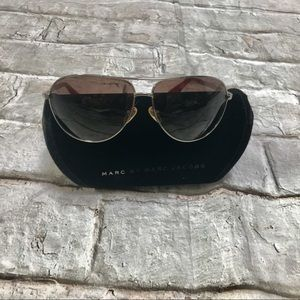✨NEW Marc Jacobs Aviator Sunglasses With Case